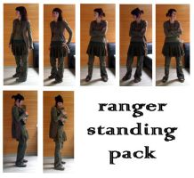 ranger standing pack by syccas-stock