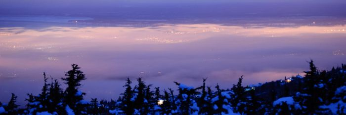 Smoke over Anchorage by DaveRich