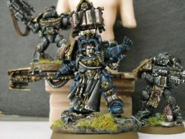 librarian with sternguard by Insuppressible