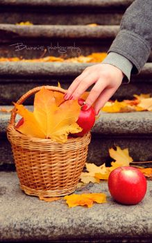 Stealing autumn. by Bunnis