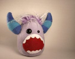 Shockey the Monster Plushie by Saint-Angel