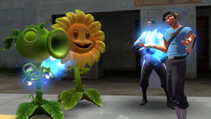 Plants vs. Zombies: Team Fortress - The Healers by Sergeant-Sunflower
