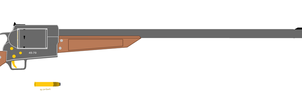 45-70 revolving rifle 2.0 by thesketchydude13