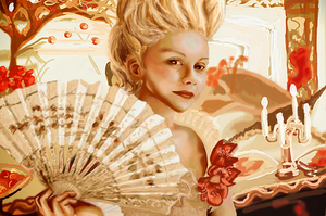 Marie Antoinette by Nar-Amarth
