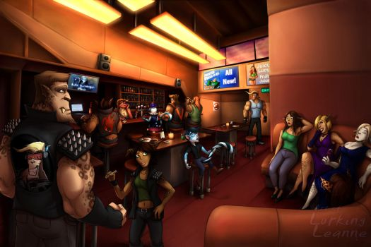 Commission - Vaelidian Bar by Lurking-Leanne