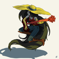 Marceline live stream drawing by average-artist