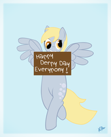 Happy Derpy Day : March 1st by Cami-Rivers