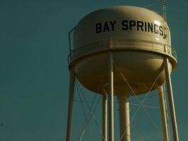 Bay Springs water tower by iluvobiwan91