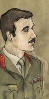 Brigadier Lethbridge-Stewart (Doctor Who) by SmudgeThistle