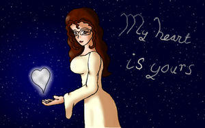 My heart is your by Rose-Songstress
