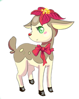 Christmas Deerling by YukiraNine