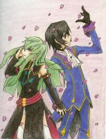 Code Geass_Sakura Love COLORED by KirakoRora