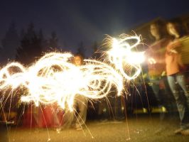 Random Sparklers by Draconian-Doxology