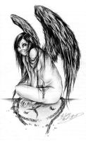 The Crow by JessicaCanvas