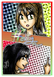 Hashtag Four chapter 1 -cover- by Rossally