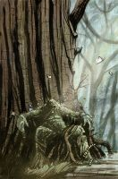 Swamp Thing by TylerChampion