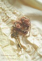 Maiden Garden brooch by Nika-N