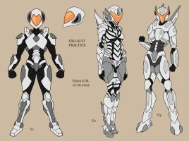Exo-suit practice by dragona