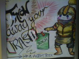 Freehand Advertisement by InkByInk