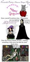 Severus Snape Art Meme by AppleGrayWolf