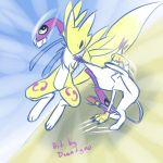 Renamon vs Tailmon by drantyno