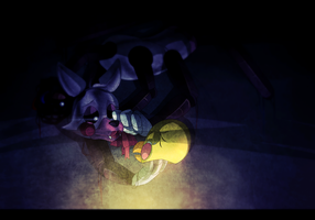 Withered mangle. by TheHobbyHorse