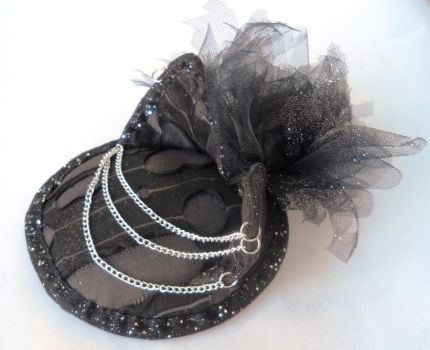 Alley Cat Fascinator by lainey
