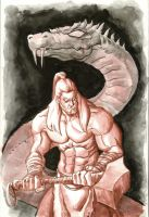 Thor Inkwash by GavinMichelli