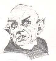 Nosferatu sketch by monstercola