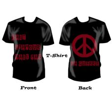 T-shirt peace by savianty