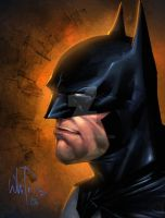 Batman portrait by Whilce Portacio by spidey0318