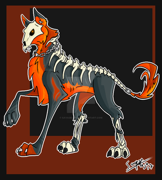 Necro Dog adoptable  (CLOSED) by Savage-Mojo