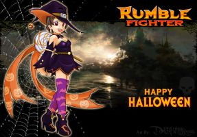 Rumble Fighter Halloween 2010 by Darkness1999th