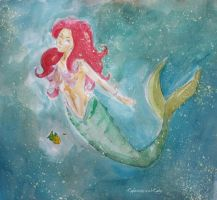 the little mermaid by LightMagicalLady