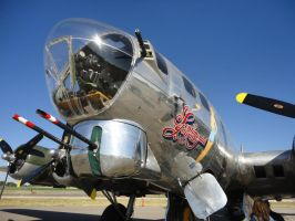 B-17 SENTIMENTAL JOURNEY 1 by Pwesty