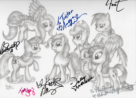 Here We Go Again Partial Signatures by KuroiTsubasaTenshi