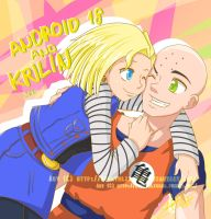 Android 18 and Krilin [Cosplay] by EvelynLisian