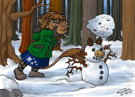 Miss OC 2013 Winter Wear - Mirabel by Gwennafran