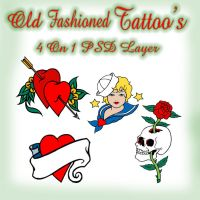 Old Fashioned Tattoo's by AngelMoon17