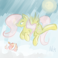 Watercolor Fluttershy by royalppurpl3