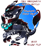 :CLOSED ADOPT FREE RAFFLE: Velvet Night Dragomyth: by Mayasacha