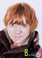 Ron Weasley by B-Portrayed