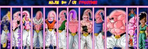 Majin Boo - Ub Evolutions by gonzalossj3