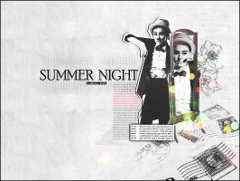 SUMMER  NIGHT by 3-al5ater