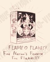 Fire Nation's Favorite Flakes by Cid-Vicious