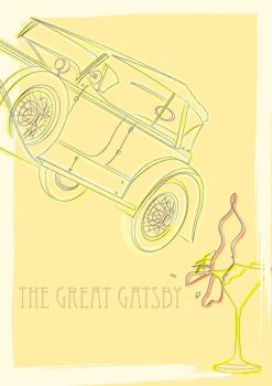 The Great Gatsby by MarcusMarrittArt