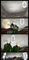 I am not leaving you behind! (APH- comic) by patty110692