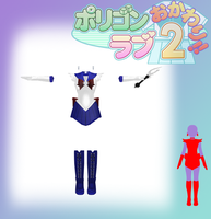 MMD PL2 Sailor Moon Saturn Outfit (DL) by KaNdY-RiPs