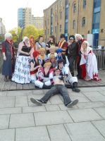 Weirdest crossover ever MCM Expo 2013 by Lady-Avalon
