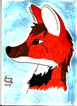 Another fursona pic by CrimsonColored